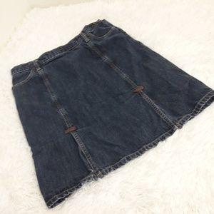 Gap SZ 6 Denim Jean Skirt Fall #54023 Winter
